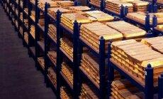 Krievijai ir lielākās zelta rezerves pēdējā 21 gada laikā