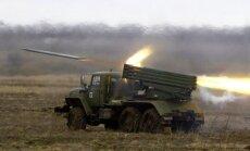 Ukrainas armijas uzbrukumā iznīcināti 11 reaktīvie mīnmetēji un trīs tanki; 100 bojāgājušie