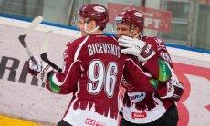 Rīgas 'Dinamo' ar mājas spēli pret 'Medveščak' atsāk KHL cīņas