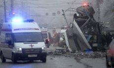 Volgogradā nogrand vēl viens sprādziens – eksplozijā trolejbusā vismaz 14 bojāgājušo (12:54)