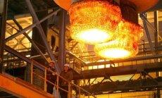 Foto: Melnās metalurģijas centrs Magņitogorskā atgūstas no zaudējumiem