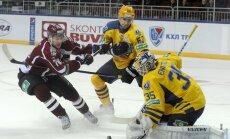 KHL diskvalificē Rīgas 'Dinamo' spēlē kļūdu pieļāvušo tiesnesi