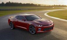 'Chevrolet' prezentējis jauno 'Camaro' modeli