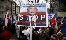 Polijas prokurori sākuši izmeklēšanu par konstitucionālā tribunāla prezidentu