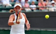 Ostapenko smagā cīņā iekļūst Kvebekas WTA turnīra otrajā kārtā