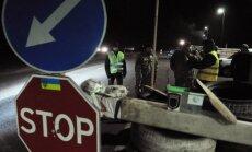 Ukraina nosaka aizliegumu Krievijas kravas automašīnu tranzītam