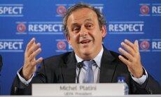UEFA prezidents: muļķīgi boikotēt sporta turnīrus politikas dēļ