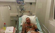 Mūziķis Gacho pēc smagas traumas nonācis slimnīcā