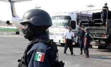 Meksikā par ASV vēstniecības automašīnas apšaudīšanu aizturēti policisti