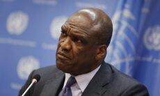 Bijušais ANO Ģenerālās asamblejas prezidents apsūdzēts korupcijā