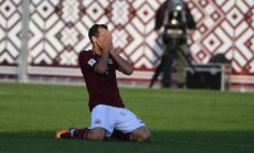 Latvijas futbolisti ar kārtējo neizteiksmīgo sniegumu piekāpjas Igaunijai