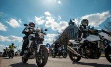 Более 5 000 мотоциклистов на улицах Риги открыли новый мотосезон