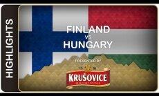 Video: Ungārijas vārtsargs liek Somijas izlasei pamatīgi pasvīst