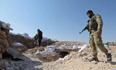 Nemiernieki Sīrijas Idlibas provincē uzspridzinājuši divus tiltus