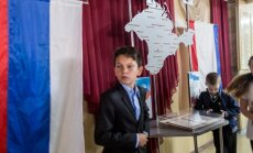 Jauni laiki vecā Krimas ģimnāzijā: Putina dāvana un sava vēstures versija