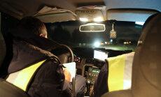 Piedzēries 'Audi' vadītājs Rēzeknē bēg no policijas