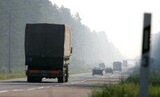 Komerciālo kravu pārvadājumi šogad Krievijā varētu sarukt par 1,8%