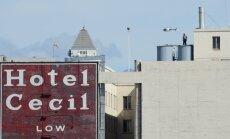 Losandželosas viesnīcas ūdens rezervuārā divas nedēļas puvis līķis
