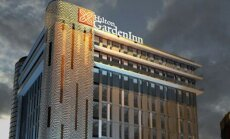 Vērienīgā 'Hilton' Rīgas viesnīcas būve atradīsies iepretim centrālās bankas ēkai