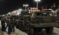 Prokrieviskie kaujinieki Ukrainā pirmo reizi pielietojuši 'Uragan' artilēriju