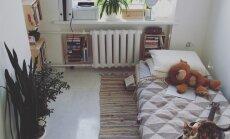 Šarms 12 kvadrātmetros – drosmīgs stāsts par pārvākšanos uz miniatūru dzīvokli Liepājā