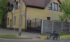 Video: Velosipēdista avārija uz Pērnavas ielas Rīgā
