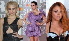 Šķēlumi, plikumi un bezgaumība: Britu mūzikas balvas apspriestākie tērpi