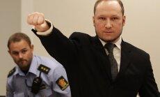 Breivīks vēlas dibināt fašistisku partiju