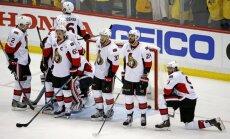 Nežēlīgais Stenlija kauss: puse 'Senators' hokejistu spēlējuši ar traumām
