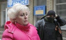 No amata atkāpusies Slovjanskas domes priekšsēdētāja, vēsta Ukrainas mediji
