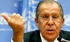 Krievija gatava palīdzēt Irākai cīņā ar terorismu, pauž Lavrovs