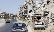 ASV: Uzlidojums palīdzības konvojam Sīrijā var izbeigt vienošanos ar Krieviju