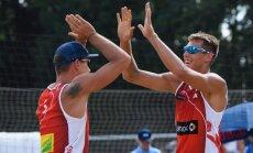 """На """"Мастерсе"""" в Гамбурге латвийские волейболисты выбыли в 1/8 финала"""