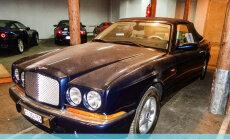 Valsts vēlreiz mēģinās pārdot ekskluzīvo 'Bentley' kabrioletu bez atslēgām
