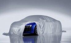'Audi' daļēji parāda jauno 'R8' superauto