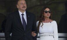 Azerbaidžānas prezidents par viceprezidenti ieceļ savu sievu