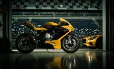 'MV Agusta' motociklus varēs nopirkt 'Mercedes-Benz' salonos