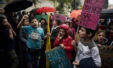 Grieķijā imigranti sāk badastreiku un pieprasa nogādāšanu Vācijā