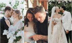 Pasakainas kāzas un bēbīši: slaveno latviešu mīlas prieki