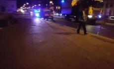 ФОТО, ВИДЕО: На Бривибас гатве в аварию попал автобус Rīgas satiksme (дополнено)