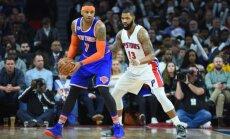 Entoniju neapmierina jaunā 'Knicks' trijstūra uzbrukuma sistēma