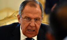 Lavrovs brīdina Zviedriju par sekām, iestājoties NATO