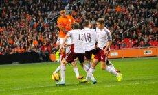 Латвия поднялась сразу на пять мест в рейтинге ФИФА