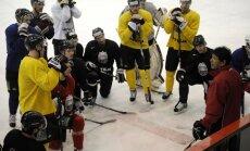 Latvijas izlasei pievienojušies vēl seši hokejisti