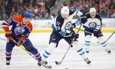 Drake Caggiula Edmonton Oilers, Patrik Laine Winnipeg Jets