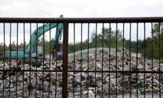 Jūrmalas atkritumu kriminālprocesā aizdomās turēto nav; izveido izmeklēšanas grupu