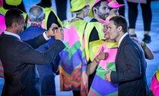Latvijas karognesējs Štrombergs stāsta par Rio atklāšanas ceremoniju