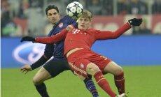 'Bayern' dramatiskā cīņā nodrošina vietu Čempionu līgas ceturtdaļfinālā