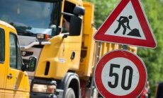 Ceļu remontu dēļ daudzviet jārēķinās ar satiksmes ierobežojumiem