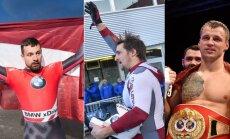 Foto: Triumfiem bagātā nedēļas nogale Latvijas sportā